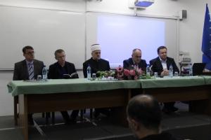 """Održana promocija knjige """"Muhamed ef. Zahirović - radovi i članci""""."""