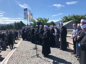 Dan šehida - Centralno obilježavanje na mezarju Humci u Bihaću