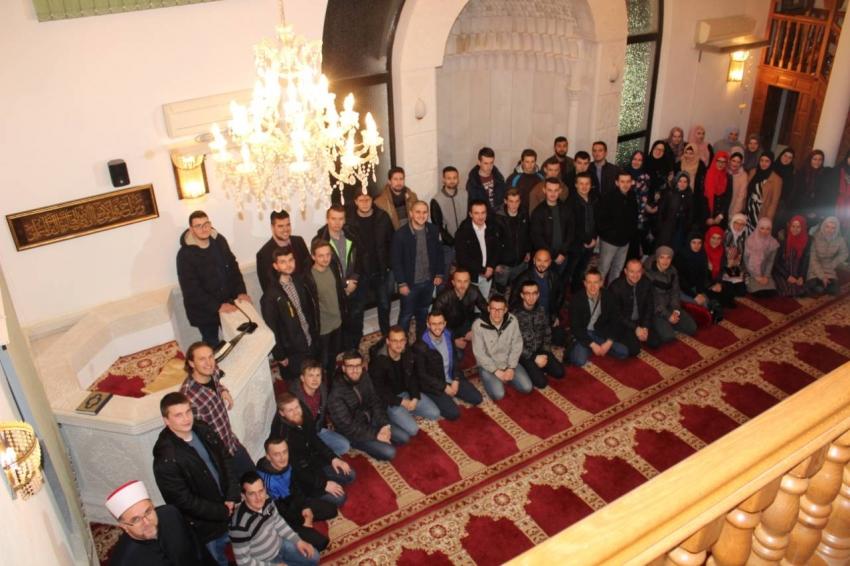 Studenti iz Sarajeva u posjeti našem medžlisu