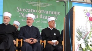 """Svečano otvorena džamija """"Nafaka"""" u džematu Ribić"""