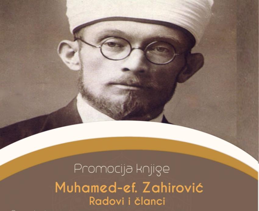 """Bihać: Promocija knjige """"Muhamed ef. Zahirović radovi i članci"""""""