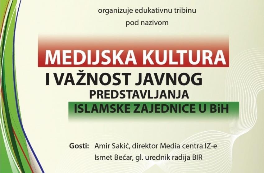 Javna tribina: Medijska kultura i važnost javnog predstavljanja IZ-e u BiH
