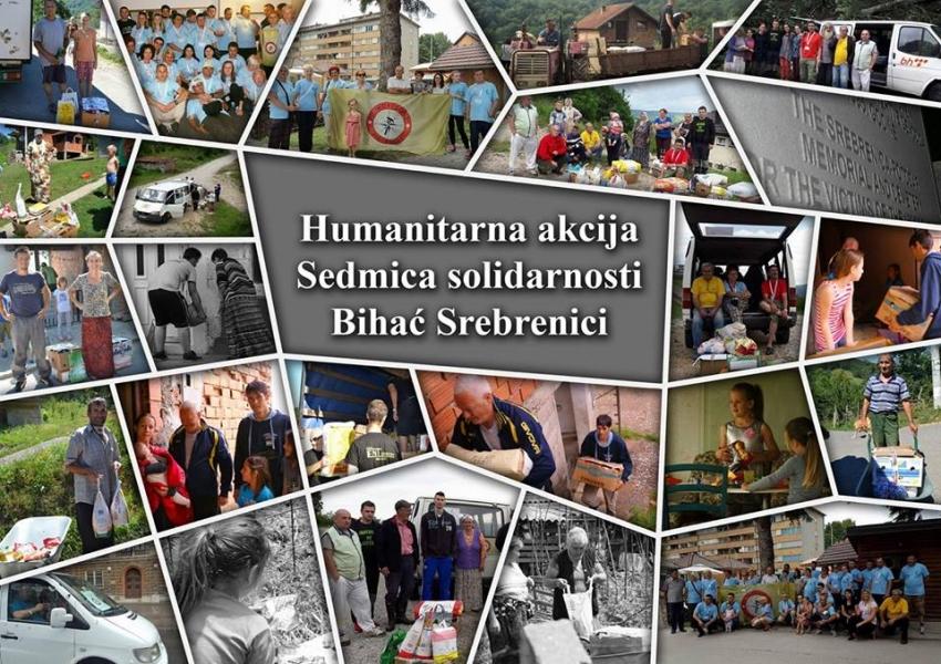 """Planinarsko udruženje """"Horizont"""" i Medžlis IZ Bihać u akciji solidarnosti """"Bihać Srebrenici"""""""