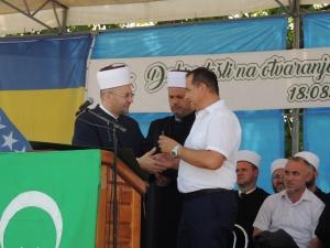 Otvorena prva džamija u džematu Pritoka