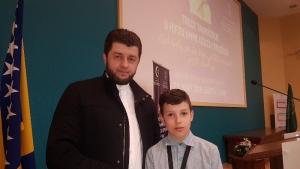 Ahsen Čavak iz Bihaća prvo mjesto na predramazanskom takmičenju učača Kur'ana u Sarajevu